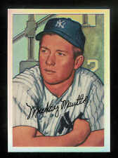 1996 BOWMAN'S BEST MICKEY MANTLE COMMEMORATIVE REFRACTOR NEW YORK YANKEES #NNO