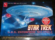 USS ENTERPRISE NCC-1701-C Model Kit 1:1400 MISB Star Trek TNG + Bonus Hologram