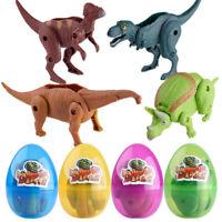 Simulation Dinosaur Toy Model Deformed Dinosaur Egg Collection For Kids