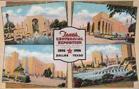 Postcard Texas Centennial Exposition Dallas Texas 1936