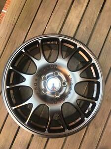 4 X MSW Wheels 18X8 MATTE BLACK ALLOYS - 5/114.3 Toyota Suitable