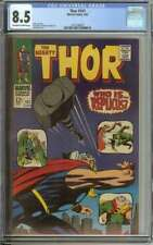 THOR #141 CGC 8.5 OW/WH PAGES