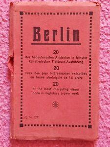 Deutsche  Reich berlin 1935 , 11 Sonderpostkarten postfrisch nicht getrennt