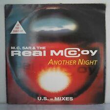 """M.C. Sar & The Real McCoy – Another Night (U.S. Mix) (Vinyl 12"""", Maxi 33 Tours)"""