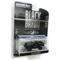 GREENLIGHT 27990 B BLACK BANDIT 1969 FORD BRONCO DOORS REMOVED 1/64 Chase