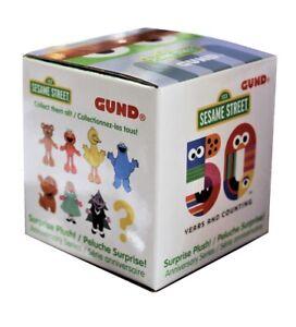 "GUND Sesame Street Surprise Plush Blind Box 3"" Mini Anniversary Series New"