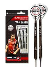 Bulls Mensur Suljovic Black 90% Tungsten Darts set available in 21g, 23g and 25g
