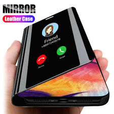 For LG K61 K50 K41S Q60 V50 Smart Clear Mirror Leather Stand Flip Case Cover