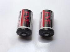 2 Batterie eve LITIO LS14250 1/2 AA SAFT 3,6V Li/SoCl2 mezza AA 1200 mAh