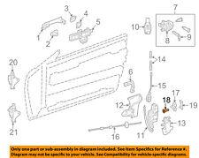 MERCEDES OEM 12-16 SLK55 AMG Door-Lower Seal Left 1727200354