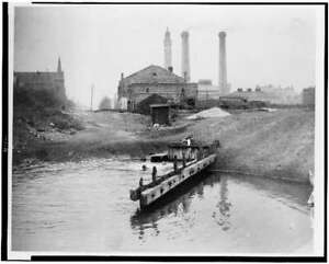 Photo:Swimming Chicago IL, water tower pumping station,1893 6579
