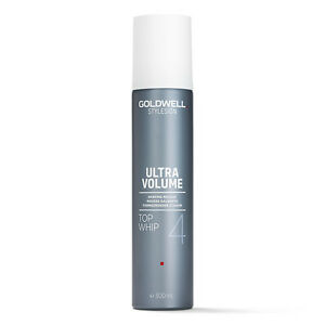 (51,67 € / L) Goldwell Style Sign Top Fouet Renforcé Mousse 300 ML