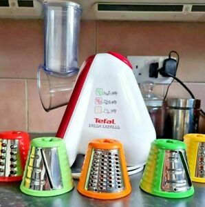 Tefal fresh express with attachments no box used twice