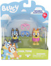 Bluey 2 Pack Figurines - POOL TIME  Playset NEW