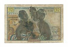 New listing French West Africa - Togo - 50 Francs 1956
