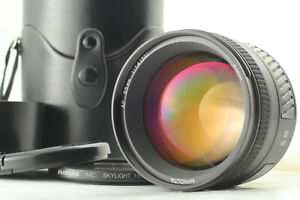【MINT】 Minolta AF 85mm f1.4 G Portrait Lens For Sony Alpha From Japan #1143
