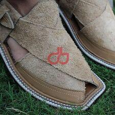 Men's Handmade  Jamrood Leather Chappel / Sandal  US Size 7,8,9,10