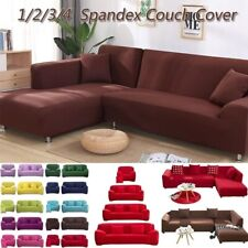 1/2/3/4 Seater Stretch Chair Sofa Covers Couch Sofa Elastic Slipcover Protector