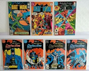 Collectable Box Job Lot Vintage DC Comics Batman Bundle Year 2 Full Set + MORE