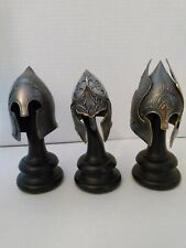 Lot of 3 of the Helms from Gondorian Collection 1/4 scale Helm set