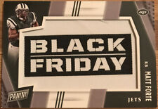 2016 Panini Black Friday Manufactured Patches Matt Forte #3 New York Jets