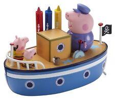 Peppa Pig Muddy Puddles bathime Barco - - Nuevo con imperfección