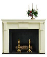 Byers Choice Fireplace with Candelabrum Caroler Display Accessory NIB