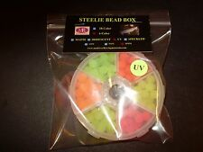 Mad River Steelie Bead 10mm 6 Color UV Bead Box FREE BEADS INCLUDED $7.99!!
