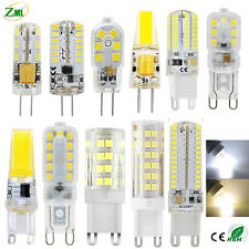 G4 G9 LED Bulb 3W 6W 7W 8W 9W 10W COB Dimmable Capsule lamp Replace Halogen bulb
