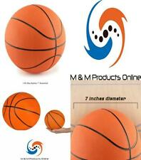 """7"""" Mini Rubber Youth Basketball - Kids For Indoor Or Outdoor."""