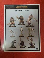 Radukar The Wolf & Radukar's Court - Warhammer Age Sigmar Soulblight Gravelords