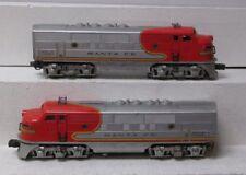 Lionel 2343 Santa Fe F3 AA Diesel Locomotive Set