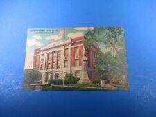 Bourbon County Court House Fort Scott Kansas Vintage Color Postcard PC42