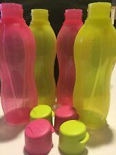 Tupperware 750 Ml Flip Top Water Bottles 4*750 Ml