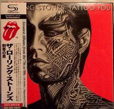 THE ROLLING STONES TATTOO YOU JAPAN SHM MINI LP CD NEW