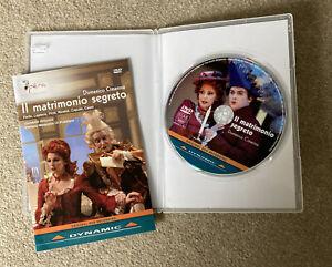 II matrimonio Segreto • Domenico Cimarosa • Cinzia Forte • Priscilla Laplace DVD
