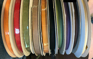 """Stampin' Up Ribbon ~Assorted colors 1/4"""" Grosgrain~ NEW and used"""