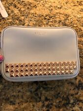 Coach Clutch Purse Wristlet Rose Gold Studs Collection New with Care Instruction