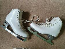 Risport Womens Ice Skates White Size 6.5 Boxed Genuine