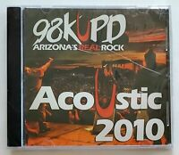 98KUPD Acoustic 2010. Deftones, Evans Blue, Digital Summer, Adelitas Way, CD