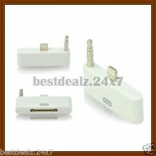 New 8 pin to 30 pin Audio Adapter Converter Pin for Apple iPhone 5 5G 5S 5C