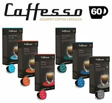 60 x Nespresso Compatible Coffee Capsules  Pods Espresso - 6 Different Blends
