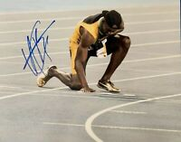 USAIN BOLT Original Signed Autographed 11X14 OLYMPICS Photo COA Authentic 03