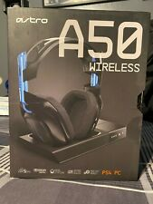 Astro A50 Wireless Headset +Base Station PS4, PC Mac (Brand New Factory Sealed!)