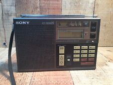 Sony ICF 7600 DS Shortwave Radio AM FM MW SW