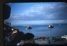 1950s red border Kodachrome Photo slide US navy Guantanamo Bay base Cuba #3