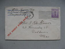 USA, patriotic cover 1942, Idle Gossip Sinks Ships
