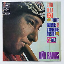 UNA RAMOS L art de la Kena Flute indienne d Amerique du Sud Vol 1 2C062 92793