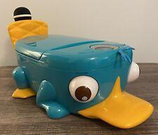 Karaoke Machine Disney Pf900K - Phineas & Ferb Perry Platypus Cd Player W/ Mic