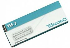 Stainless Blades for Tondeo Sifter Shaper Razor, Germany Made 10 Pack Shaving